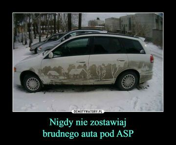 Nie parkuj pod ASP