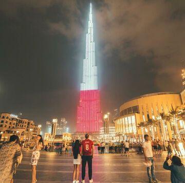 Burj Khalifa 11 listopada