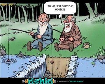 Z Mojżeszem na rybach