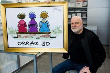 Obraz 3D.