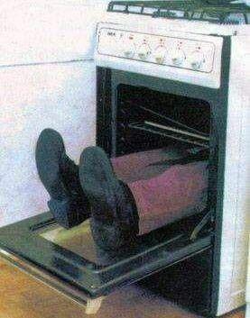 facet w piekarniku