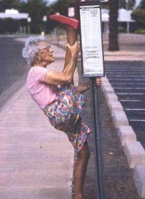 Babcia spełniająca wymogi