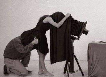fotograf i asystentka
