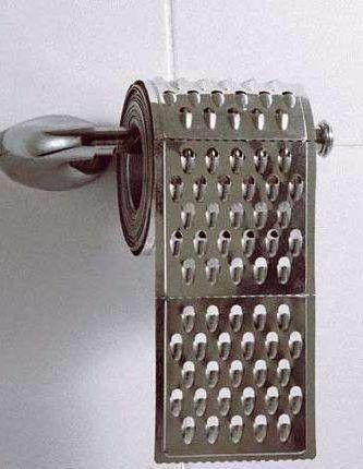 Papier toaletowy, metalowy....