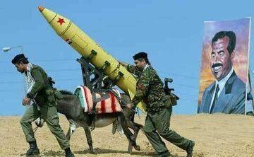 Osioł - wyrzutnia rakiet