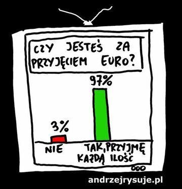 Jesteśza przyjęciem EURO?