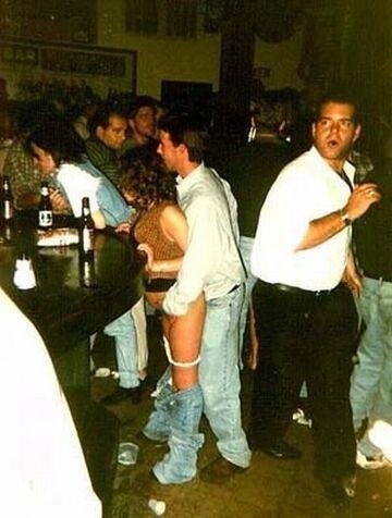 Przy barze?!