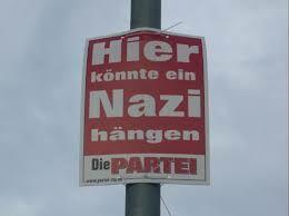 Tu mógłby wisieć jakiś nazista