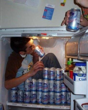 W lodówce