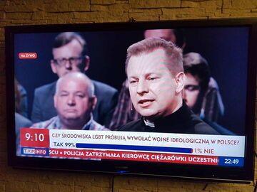 Sonda w TVP Info o środowiskach LGBT