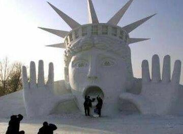 Statua Wolności?