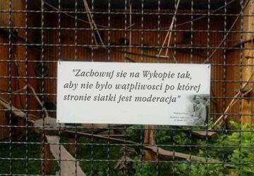 Informacja dla odwiedzających ZOO