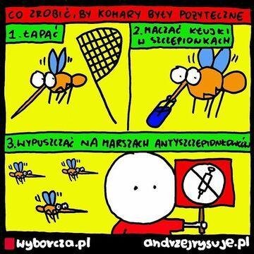 Co zrobić, by komary były pożyteczne