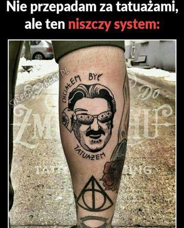 Tatuaż który rozwala system