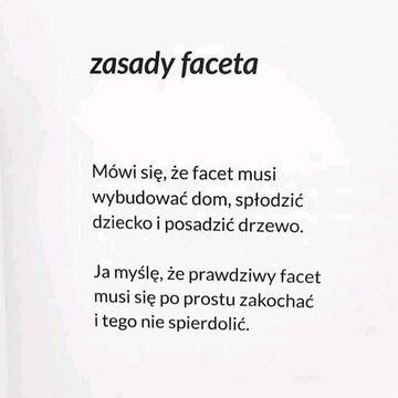 Zasady faceta