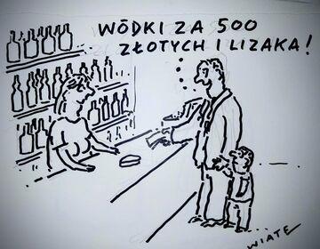 Wódki za 500 złotych i lizaka!