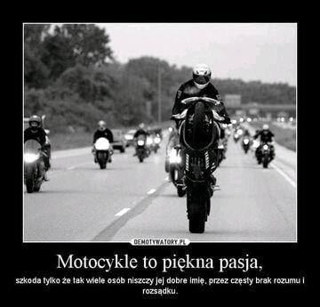 Motockle piękna pasja