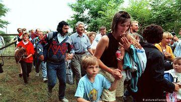 Niemieccy uchodźcy (sierpień 1989)