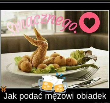 Obiad...