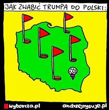 Jak zwabić Trump do polski