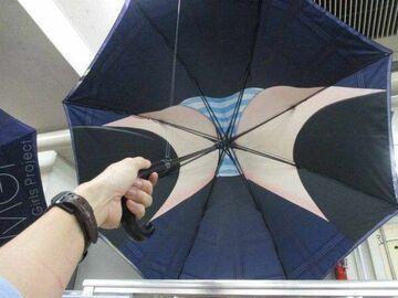 Pod parasolem ...