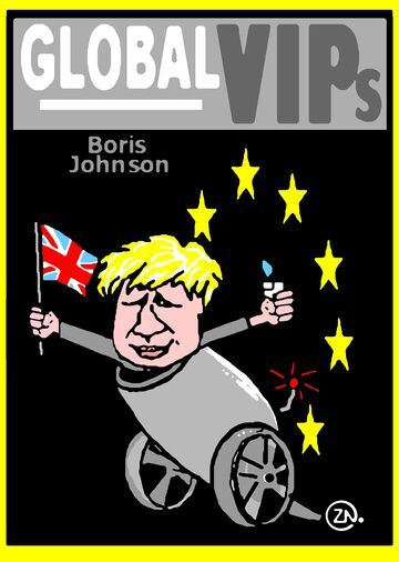 poster brexit johnson