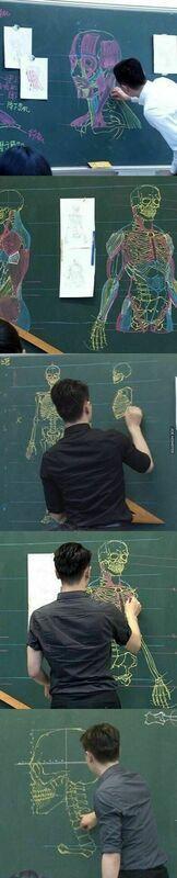 Utalentowany nauczyciel biologii