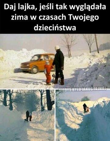 To były zimy....