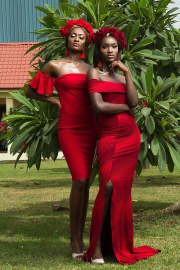 Czarne i czerwone