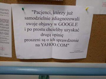 Diagnoza chorób przez Google