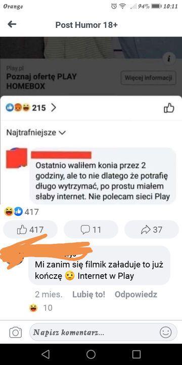 Sieć play komentarz