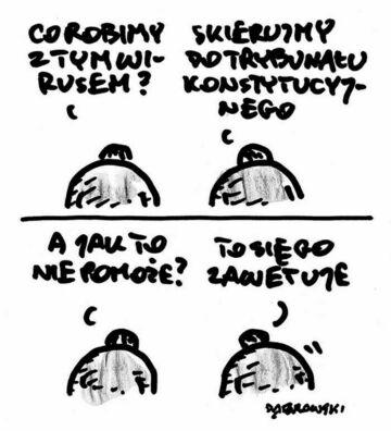 Plan na koronawirusa