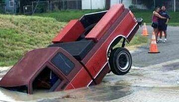 Nie napisali że zalało