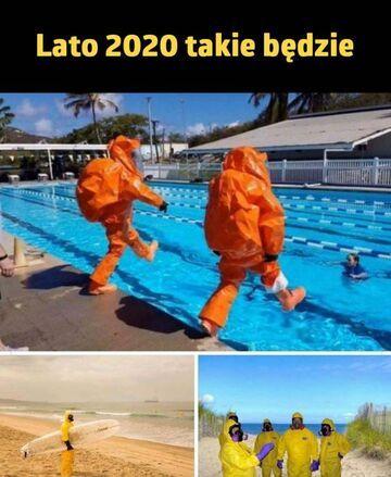 Latem 2020 na basenie