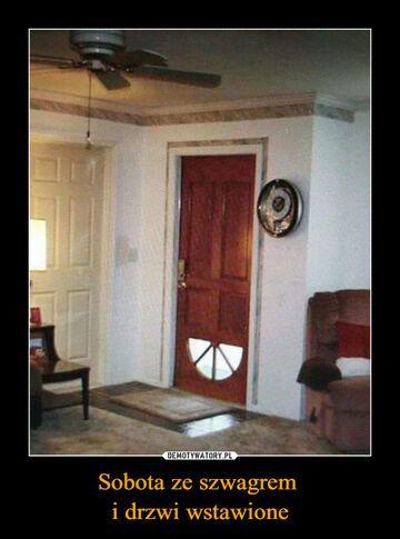 Wstawianie drzwi ze szwagrem