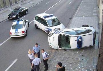 Policjanci..