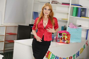 Jak to miło, że wpadł pan na moje urodziny...