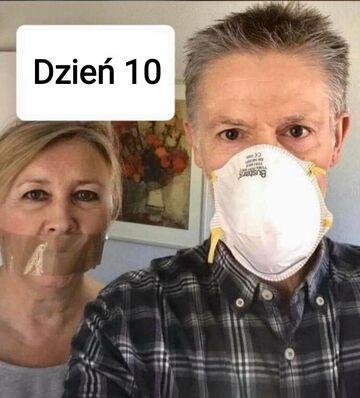 10 dni kwarantanny z żoną