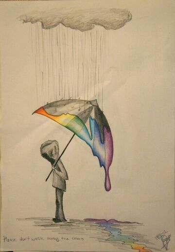 Please, don't wash away the colours