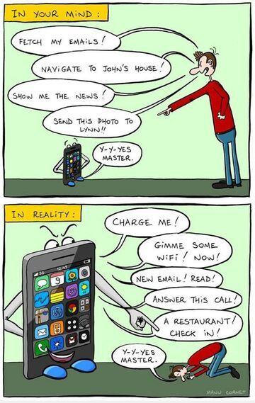 Nasze wyobrażenia o technologii a rzeczywistość.