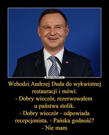 Żarcik o Andrzeju Dudzie