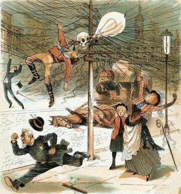 W 1900 wierzono, że elektryczność nas zabije. Dzisiaj, że zabije nas 5G