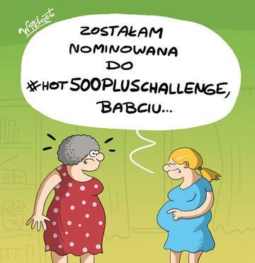 Nominacja do #Hot500Pluschallenge