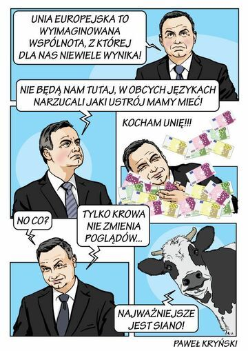Andrzej duda i UNIA!