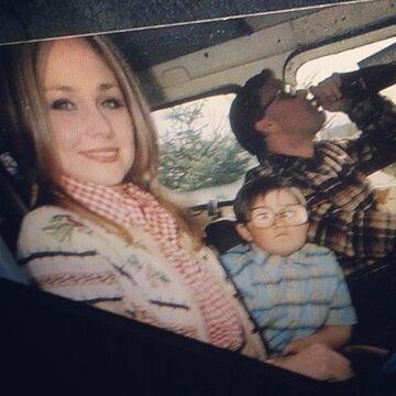 Zdjęcie z rodzicami
