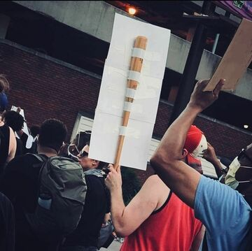 Na wypadek, gdyby forma protestu się zmieniła