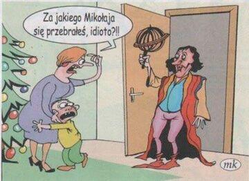Mikołaj Mikołajowi nierówny...