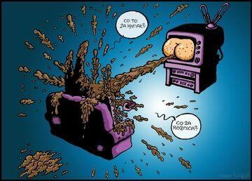 Współczesna telewizyjna codzienność.