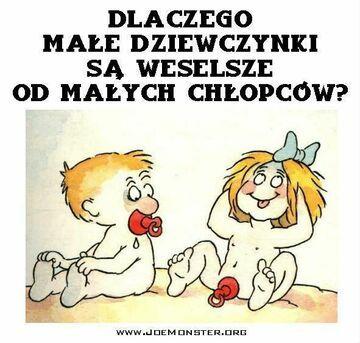 Dlaczego są weselsze... ;)