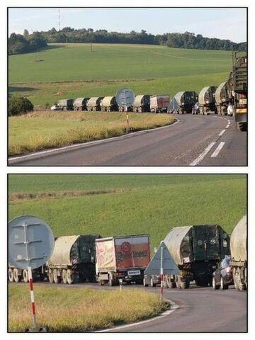 Czeska armia jedzie na manewry